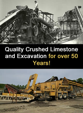 Wisconsin Limestone Quarry/Excavating
